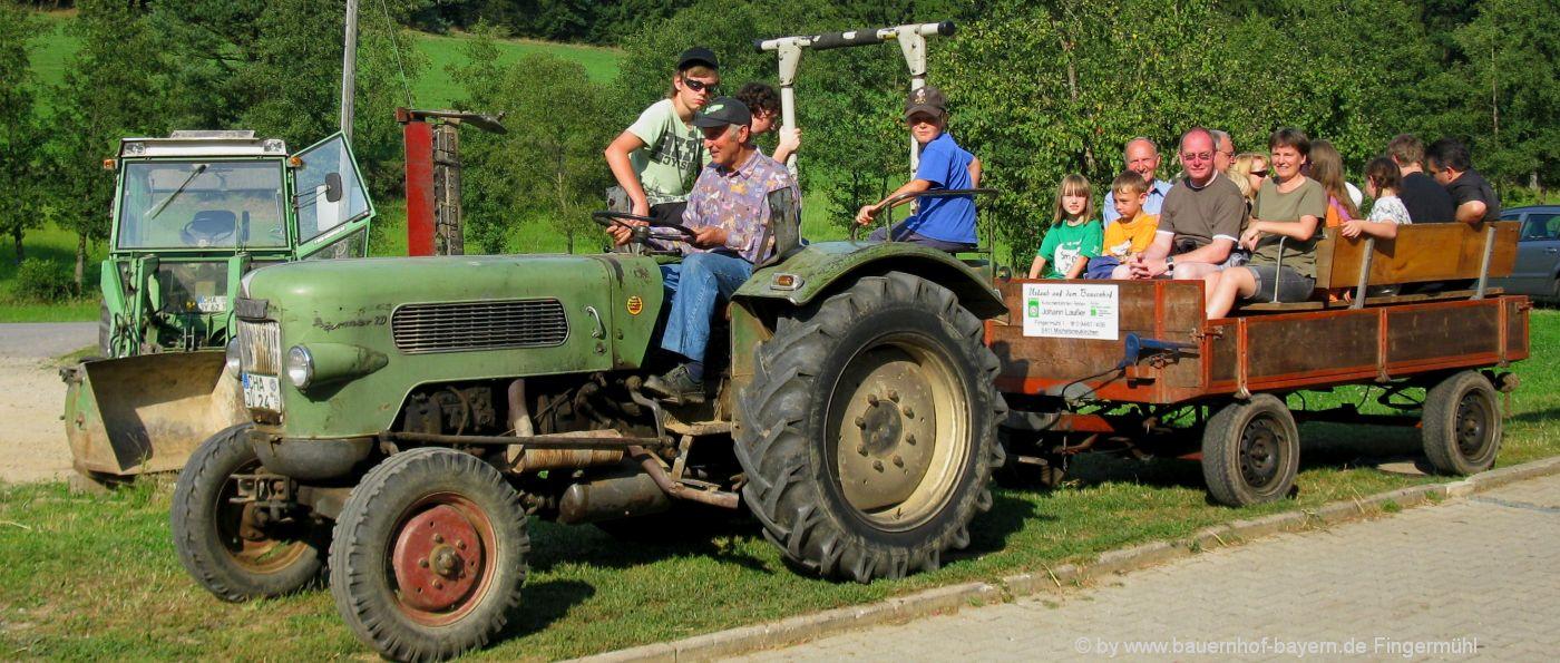 Urlaub auf dem Erlebnisbauernhof in Bayern